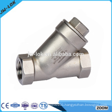 stainless steel Y-type filter valve