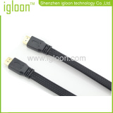 Hdmi To Hdmi Male Cable With Golden Plated Plug