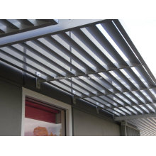 Sun Protection Anodized Aluminium Solar Shades
