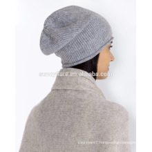 Wholesale Classic High Quality Cashmere Baggy Beanie Hat