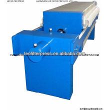 Prensa de filtro Leo Pequeña Prensa de filtro manual de placa 400X400