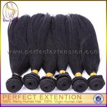 Itens para venda no cabelo europeu onda reta de seda