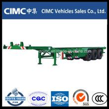 Cimc 40FT Container Gooseneck Skeleton Chassis Trailer