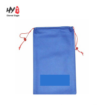 promotional logo printed cheap non woven drawstring bag