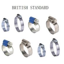 British Type Hose Clamp