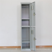 2 doors metal locker office staff use storage single locker