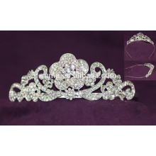 Hot Sale Nouveaux Design Headwear Rhinestone Wedding Tiara Crystal Bridal Crown