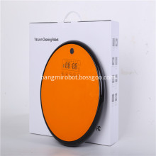 Led Touch Screen Robot Vacuum Cleaner
