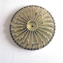 Factory Professional Round Aluminium Die Casting LED Heatsink