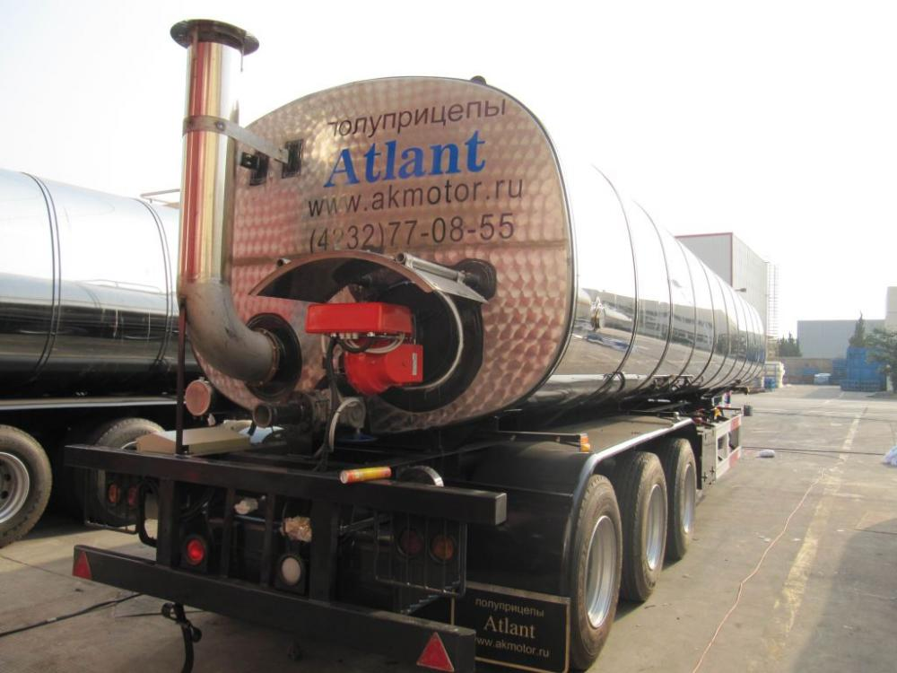 BitumenTank Semi-Trailer with Insulation