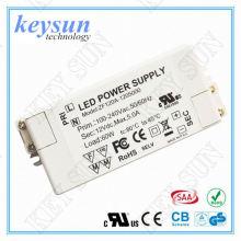 Keyun 60W 12Vdc 0-5000mA AC DC Konstantspannung LED Treiber Power