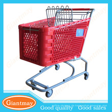 Guangdong Einzelhandel Karts für Verkauf kommerziellen Lebensmittelgeschäft Supermarkt Warenkorb mit Stuhl