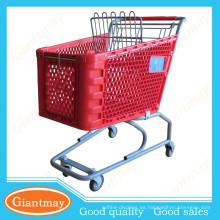 guangdong venta al por menor carritos para la venta comercial supermercado supermercado carrito de la compra con silla
