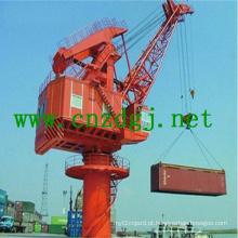 Marine Single Port de Jib Crane para levantamento