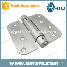 Dobradiça de mola de auto-aperto de aço inoxidável RH-106