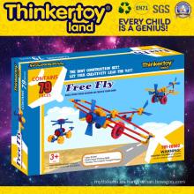 DIY Linterna modelo de juguetes educativos Bloques de construcción de plástico