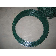 PVC revestido Razor arame farpado no melhor preço