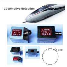 NDT locomotora de detección, combinación de neumáticos Single / Two / Three / Cuatro sonda de cristal (GZHY-Probe-011)