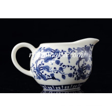 Ganoderma Lucidum Flower Porcelain Tea Pitcher