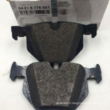 E70 F15 E71 jeu de plaquettes de frein arrière de haute qualité pour BMW E70 X5 X6 jeu de plaquettes de frein arrière 34216776937