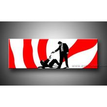 Décoration murale Art contemporain en toile Peinture Pop Art (PO-022)