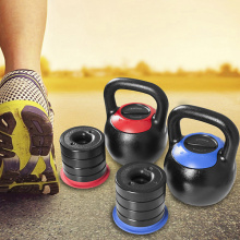 Cast Iron Kettlebell with Adjustable Plates