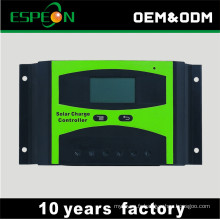 hors grille 12 V 24 V 10A 20A 30A 40A 50A 60A avec LCD affichage solaire contrôleur de charge solaire contrôleur