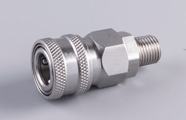 Stainless Automatic Quick Coupler Socket Male Thread