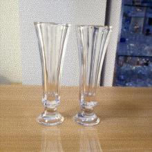 Хрустальная труба стеклянная ваза с подставкой