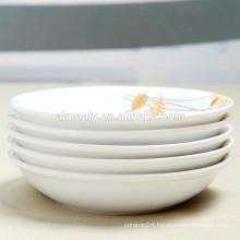 "8"" ceramic soup plate"