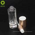 Emballage cosmétique flacons crème verre 60 ml fond de teint avec pompe