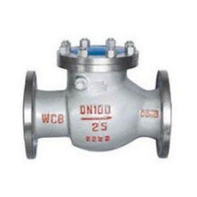 stainless steel swing check valve used in water vapour oil