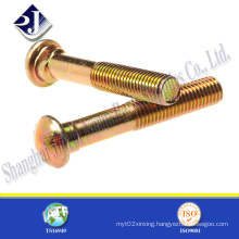 Yellow Zinc Finished Truck Bolt