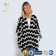Hot Sale womens open front cashmere poncho winter ponchos and capes