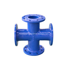 Ductile Iron Pipe Fitting Cross
