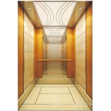 Ascenseur de passager ascenseur miroir gravé Aksen Ty-K147