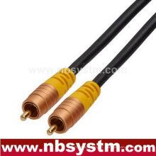 Type d'assemblage Câble d'interconnexion RCA Plug to RCA Plug
