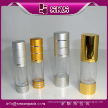shengruisi hot sale plastic 30ml airless pump bottle