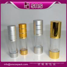 shengruisi hot sale plastic 30ml airless pump bottle
