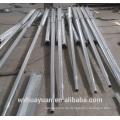 Außen-achteckig verzinkter Stahl faltende Straßenbeleuchtung Pol