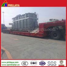 4 lignes 8 essieux 150 tonnes de bas remorque