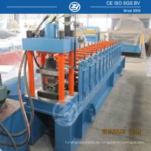 Máquina formadora de acero con forma de rollo en frío