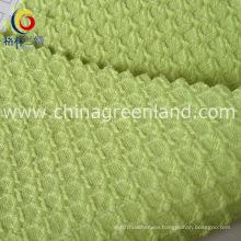 Textile Cube Woven Seersucker Jacquard Fabric of Polyester (GLLML154)