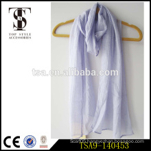 popular choice polyester mix wool nylon solid color scarf winter necessity top style accessories