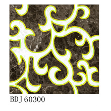 Manufactory of Gloden Decorative Carpet Tile em Fuzhou (BDJ60300)