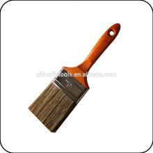 coffee color hollow bristle paint brush
