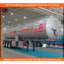 3 Axles Aluminum Fuel Tank Trailers 42, 000 Liters for Sale