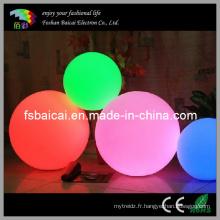 Balle à LED illuminée / boule imperméable à LED