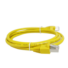 Cable de puente amarillo Cat5e cable de cable de remiendo utp