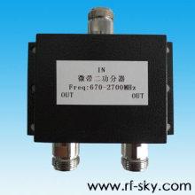 Divisor de potencia 400-800MHz